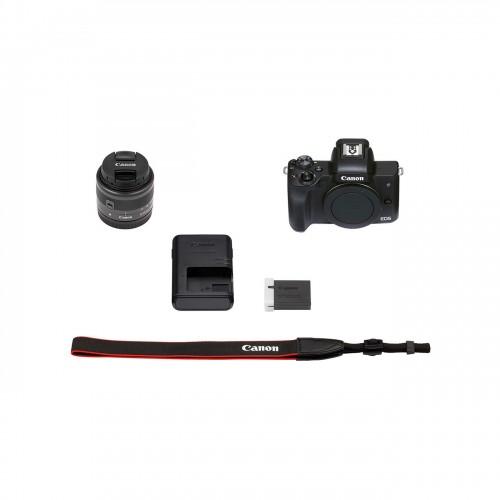 دوربین بدون آینه Canon EOS M50 Mark II + 15-45mm IS STM