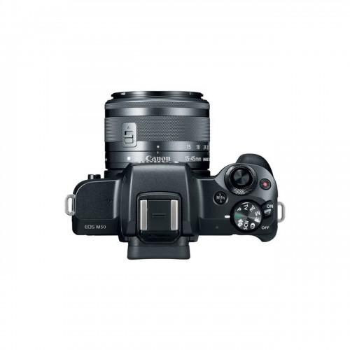 دوربین بدون آینه Canon EOS M50 + 15-45mm IS STM