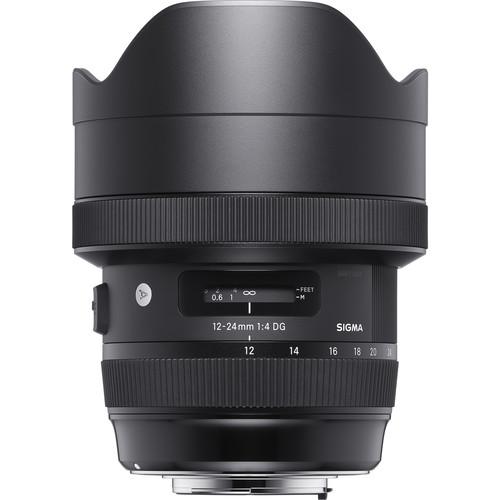 لنز Sigma 12-24mm f/4 DG HSM Art برای Nikon F
