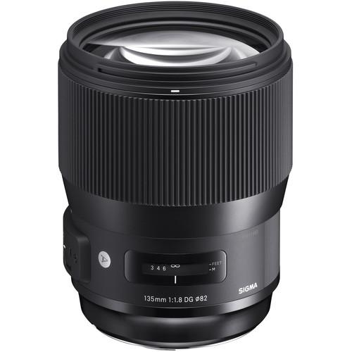لنز Sigma 135mm f/1.8 DG HSM Art برای Nikon F
