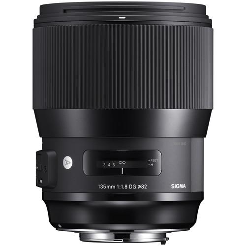 لنز Sigma 135mm f/1.8 DG HSM Art for Nikon F