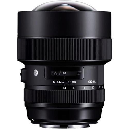 لنز Sigma 14-24mm f/2.8 DC HSM Art برای Nikon F