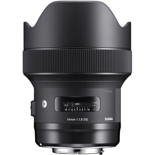 لنز Sigma 14mm f/1.8 DG HSM Art برای Canon EF